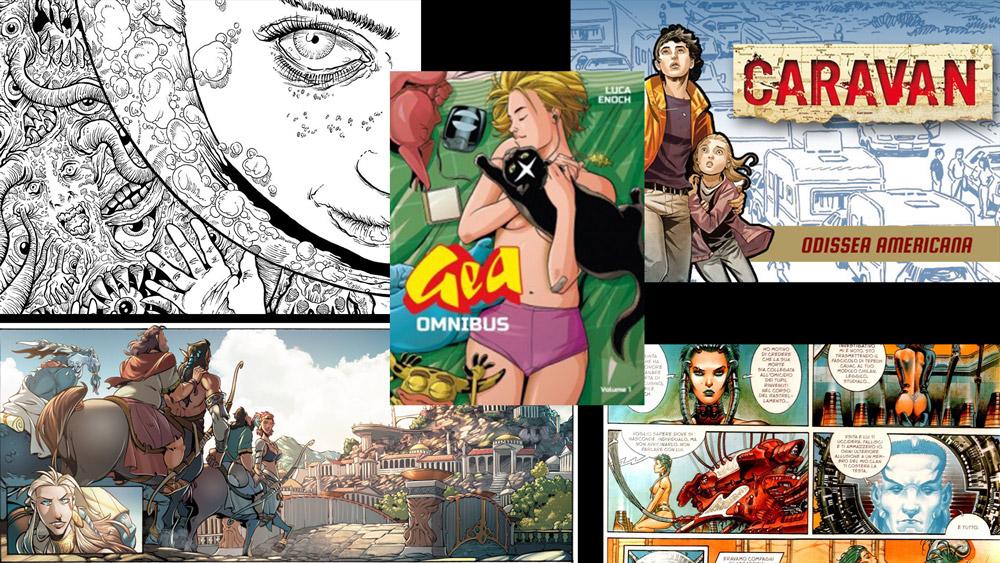 five-italian-comics